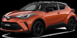 Naujasis Toyota C-HR 2020