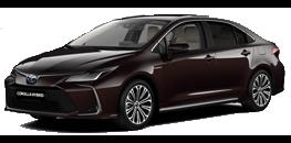 Naujasis <br>Corolla sedanas